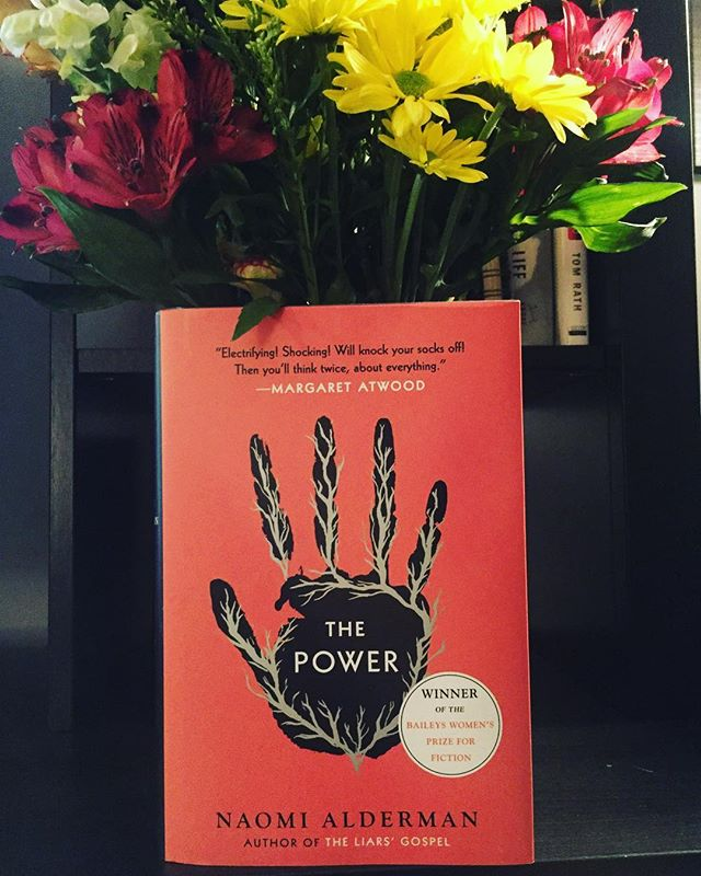 ⚡️READ THIS BOOK. ⚡️'The Power' by @naomi_alderman ⚡️