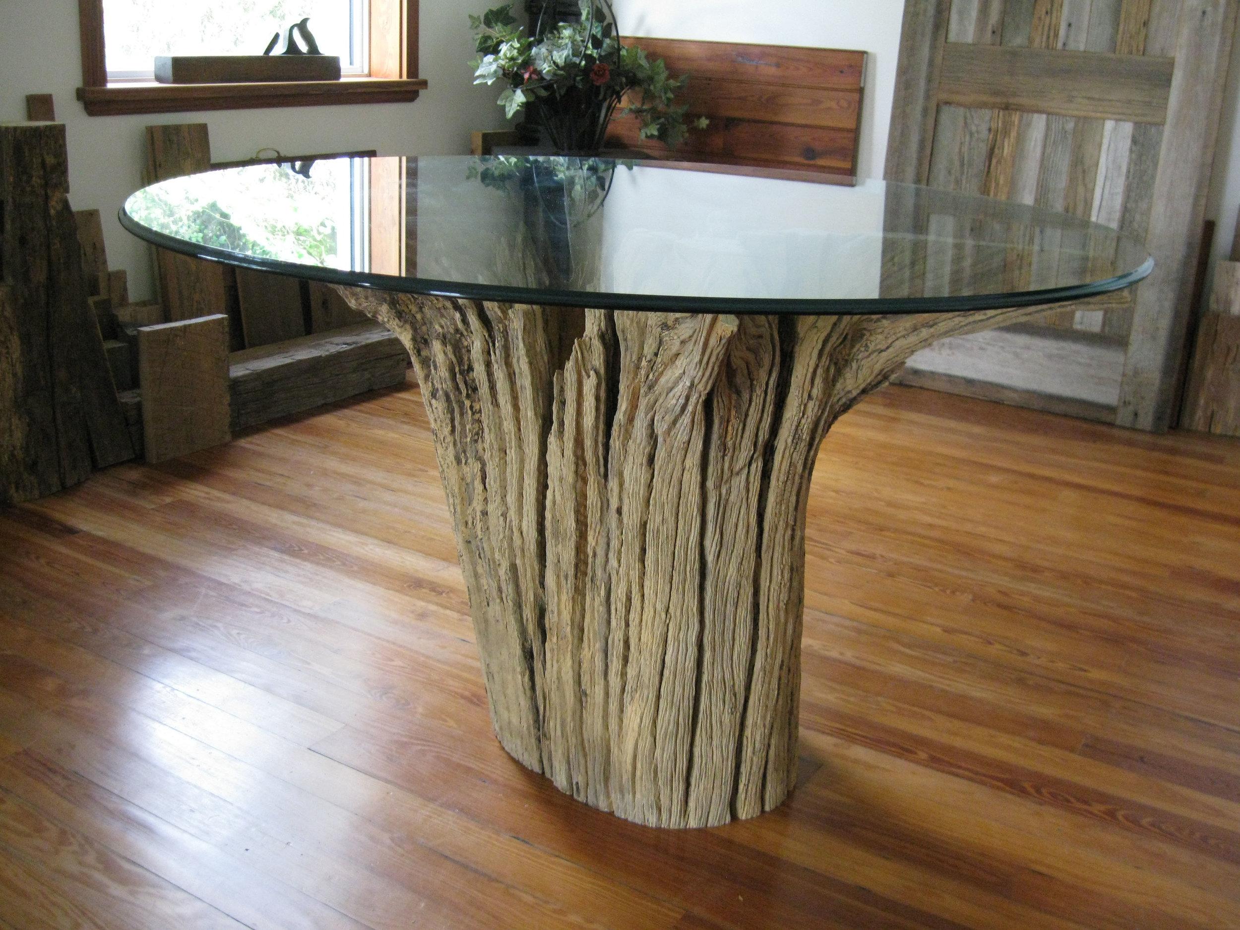 Natural Tree Stump Table Base