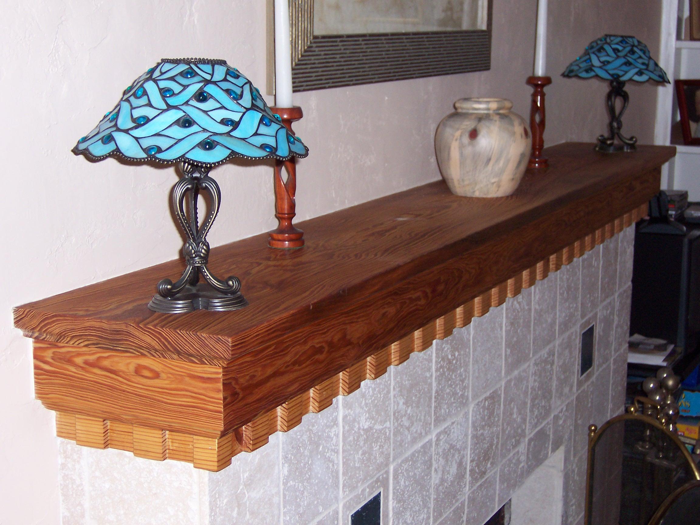 Dade County Pine Fireplace Mantel