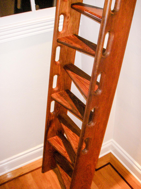 Dade County Pine Custom Ship's Ladder