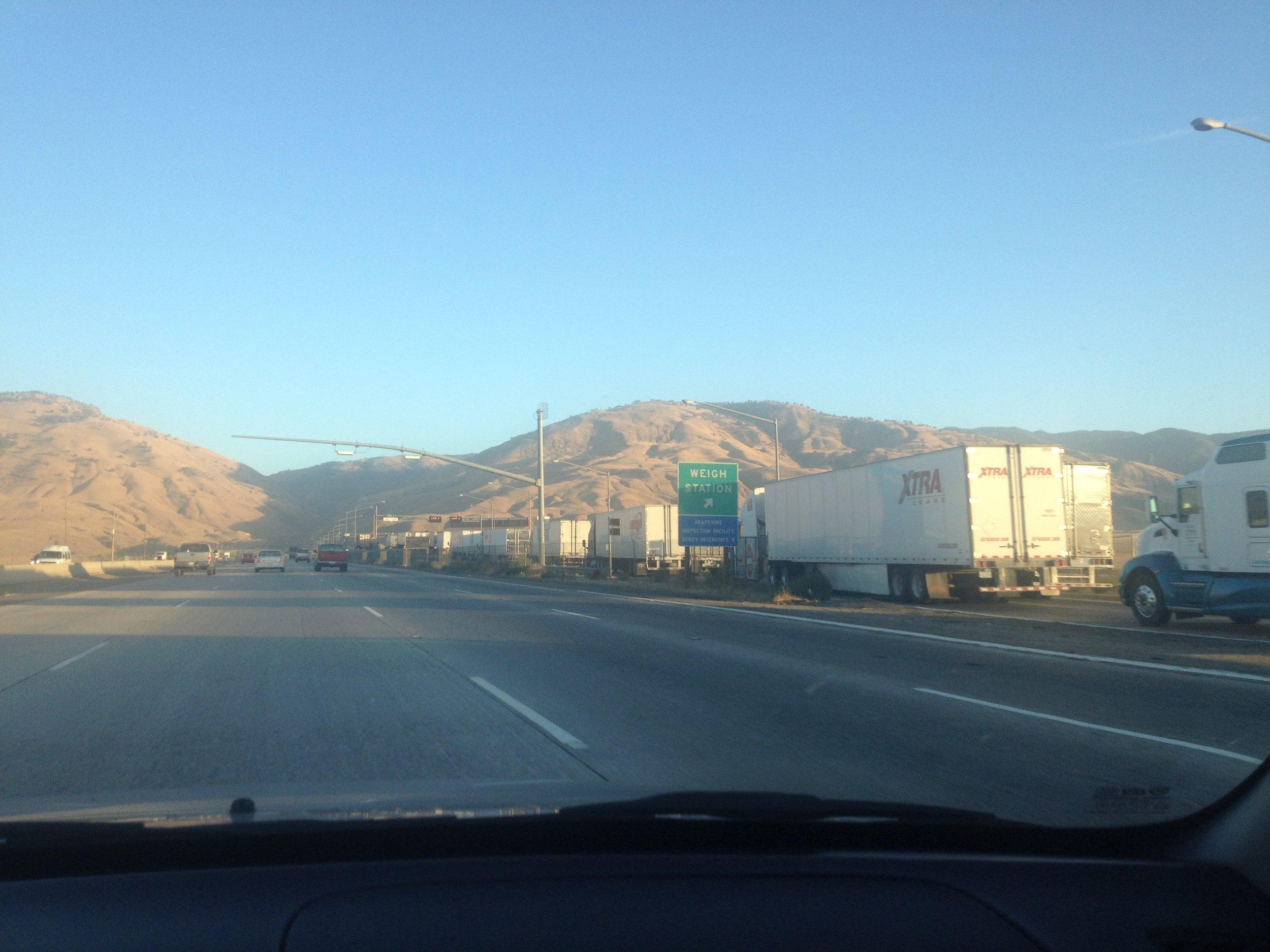 Approaching LA