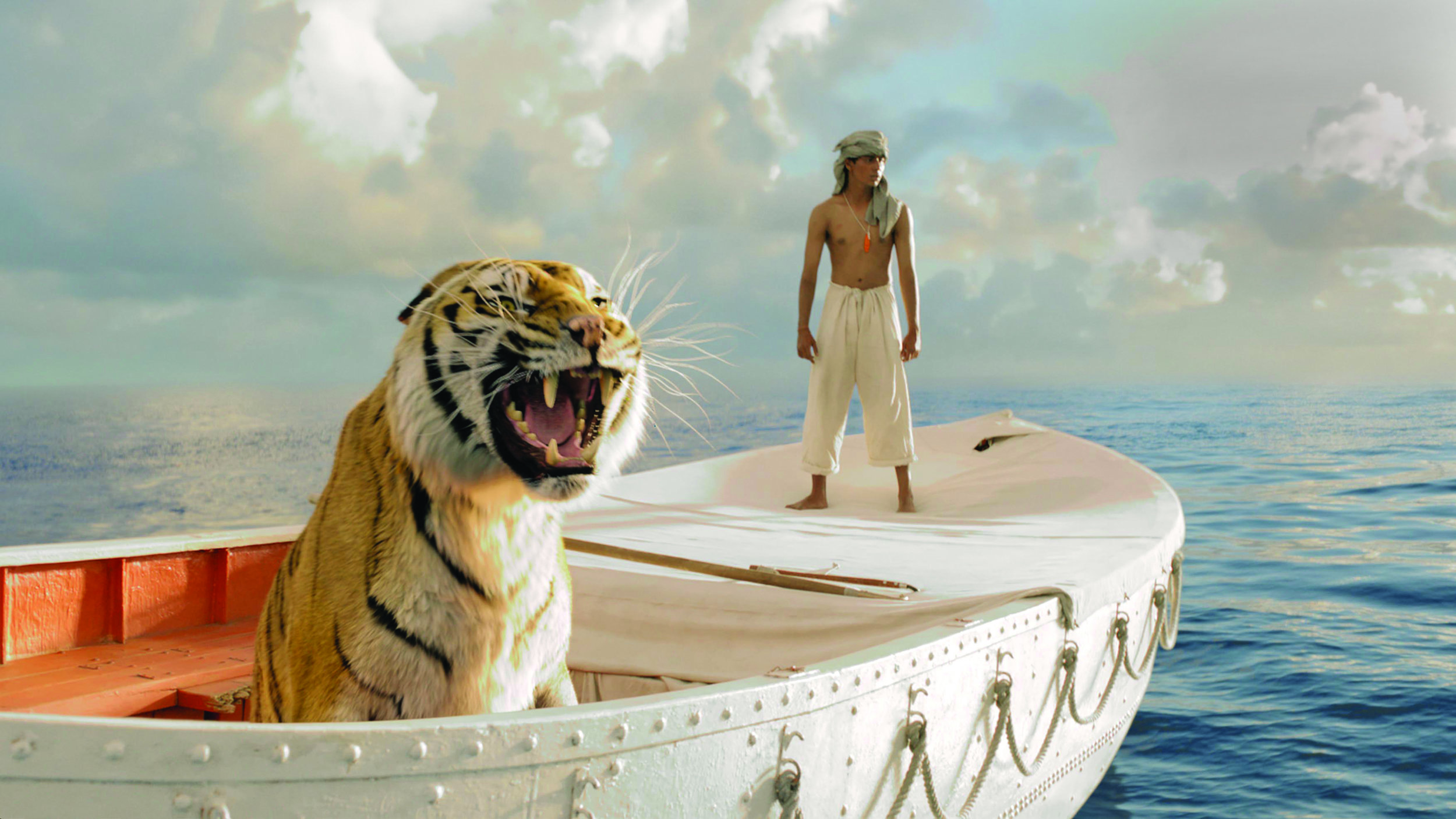 As shot from Life of Pi – One of the films that Sean worked on