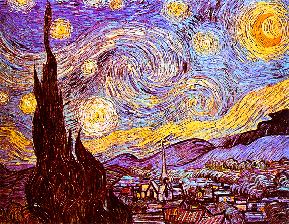 Fun Fact: Van Gogh only ever sold one of his paintings – and it was to his brother. Today his paintings (like this one) are valued at over $100M