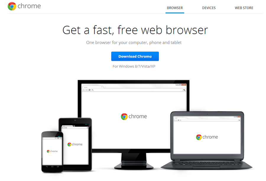 Chrome Homepage
