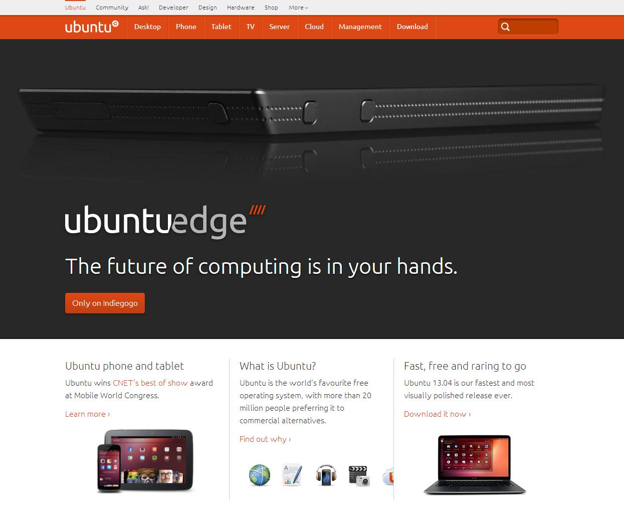 Ubuntu Homepage