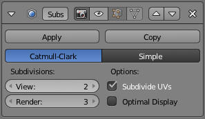 Subdivide to add detail