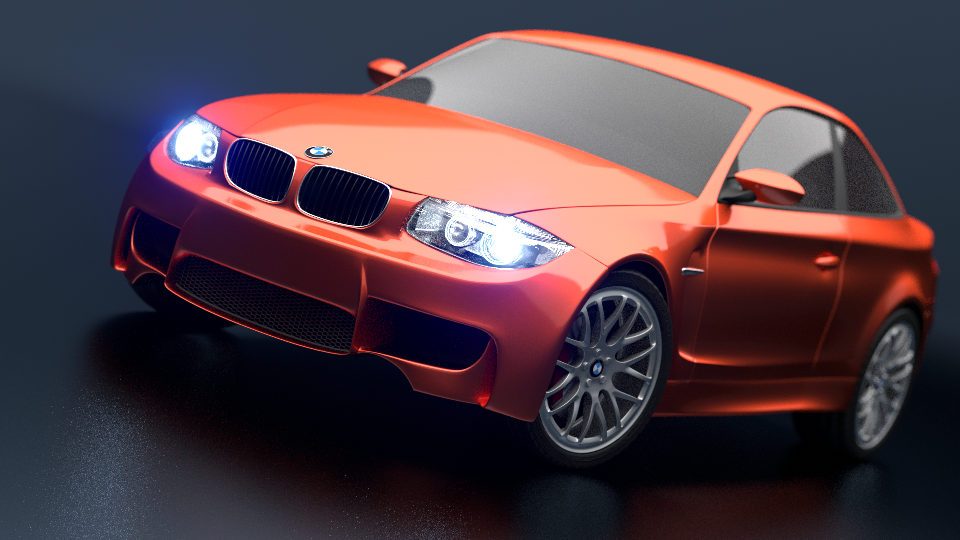 BMW Benchmark Scene by Mike Pan – Download it  here .
