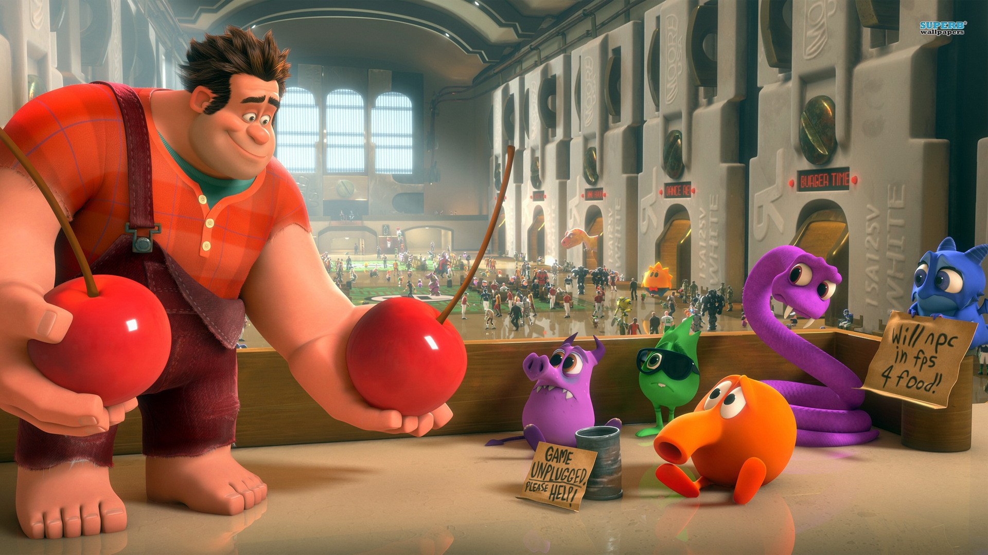 For Wreck it Ralph, a  physically based shading workflow  was developed to make the materials feel more real