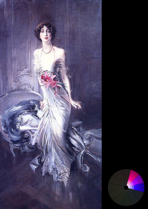 Created by Giovanni Boldini – Portrait of madame E L Doyen (from ArtRenewal.org)
