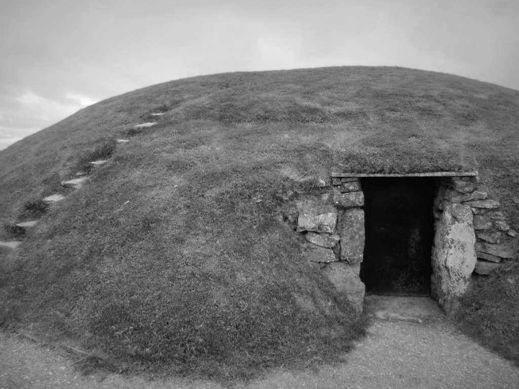 Ancient Irish passage tomb