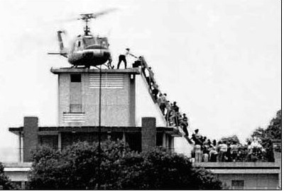 Saigon evacuation April 30, 1975