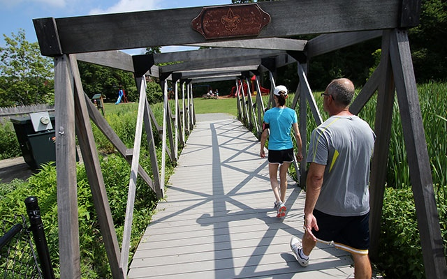 People everywhere are taking advantage of abandoned rail corridors that have been transmformed into biking and fitness trails.