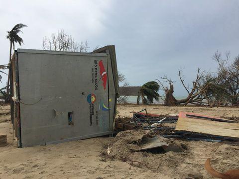 Vieques demolished