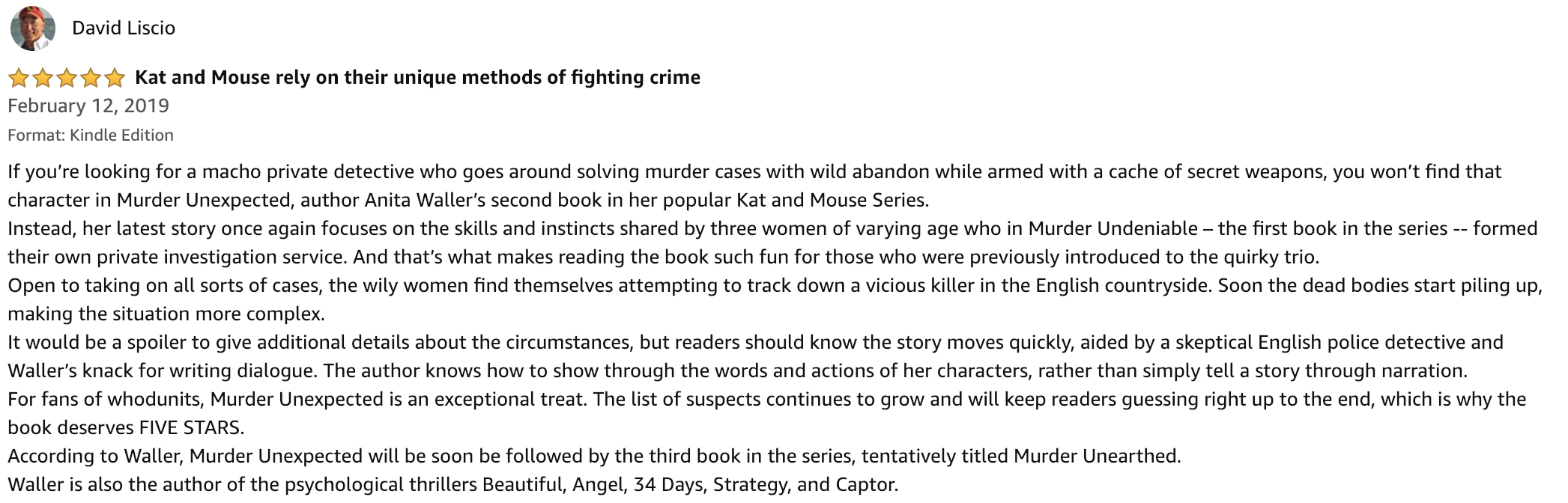 Review Anita Wallers Murder Unexpected.png