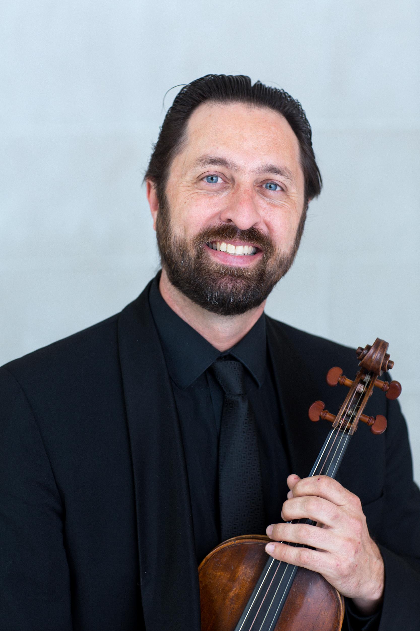 Tyler Lewis, violin