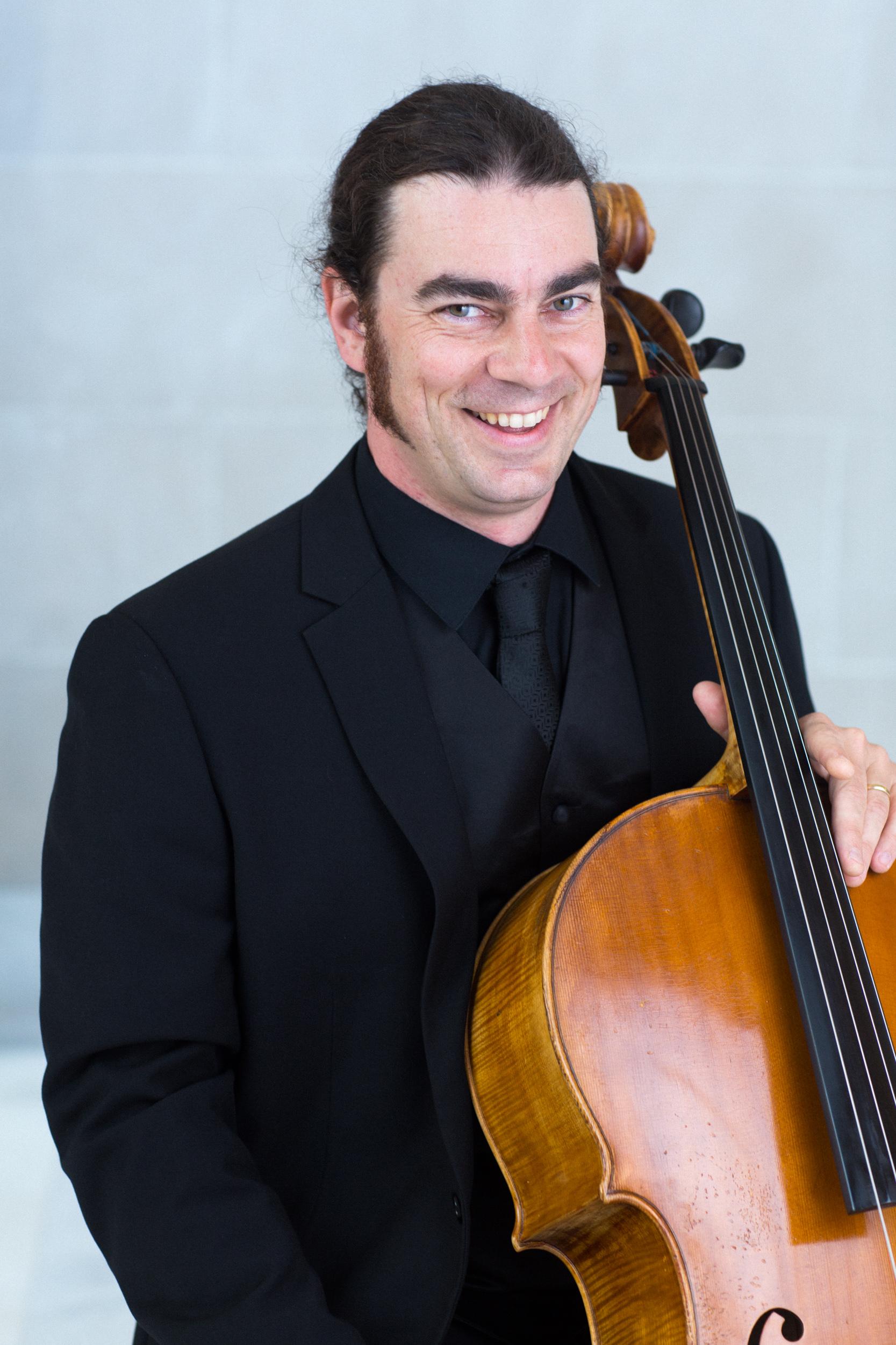 Shain Carrasco, cello