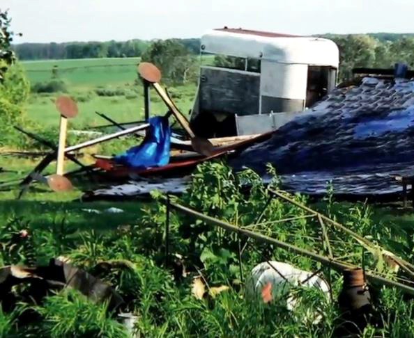 Gardens Gourmet experienced extensive tornado damage in 2010.