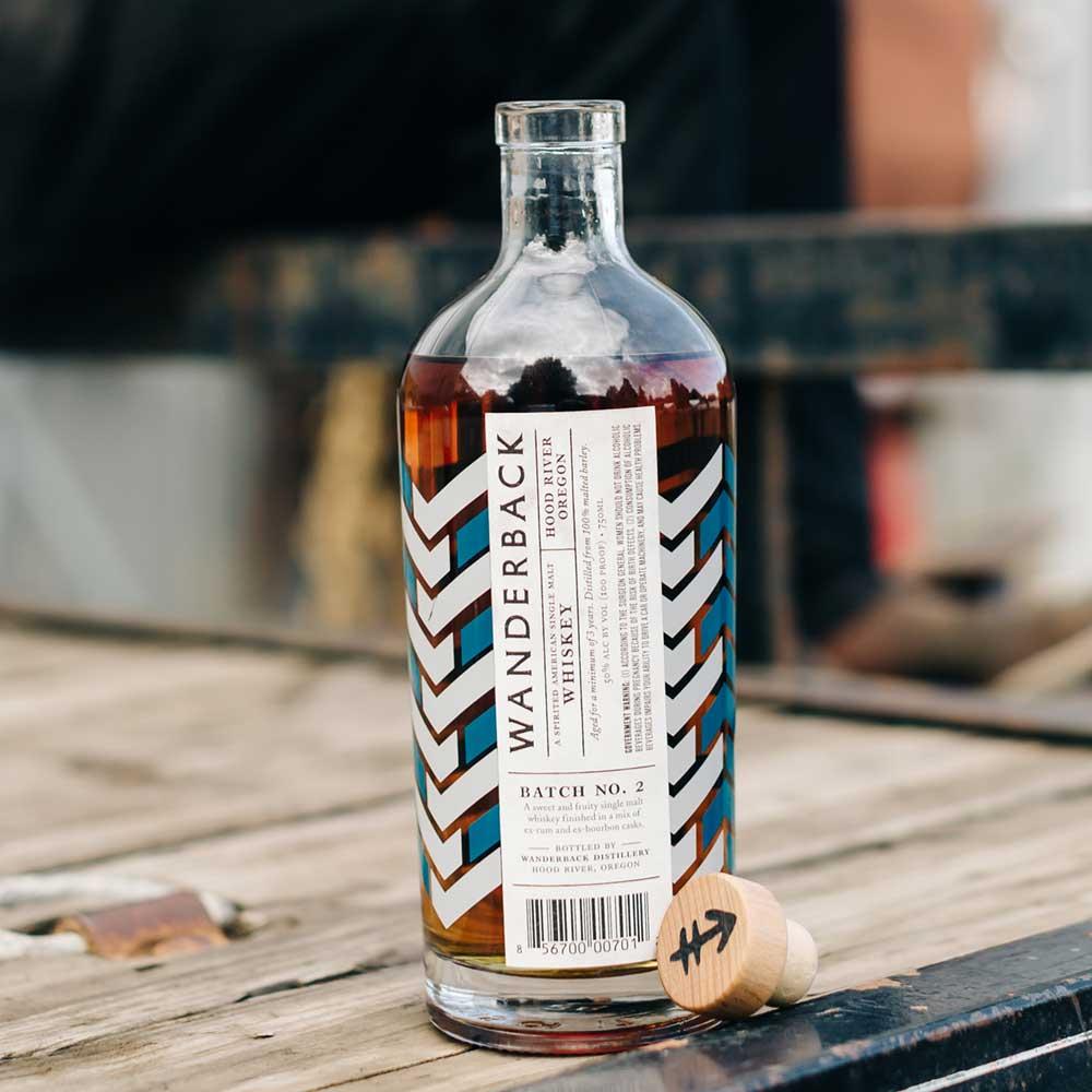 Wanderback Batch No. 2 American Single Malt Whiskey