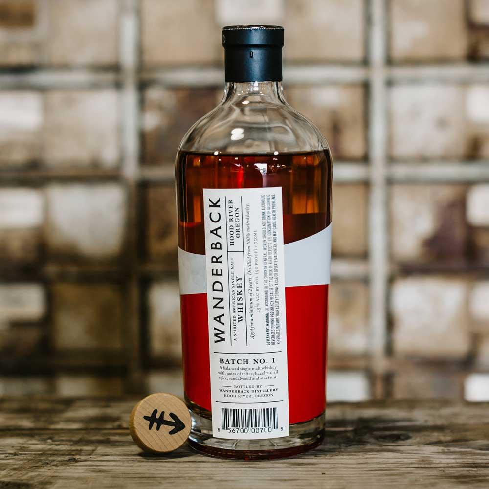 Wanderback Batch No. 1 American Single Malt Whiskey