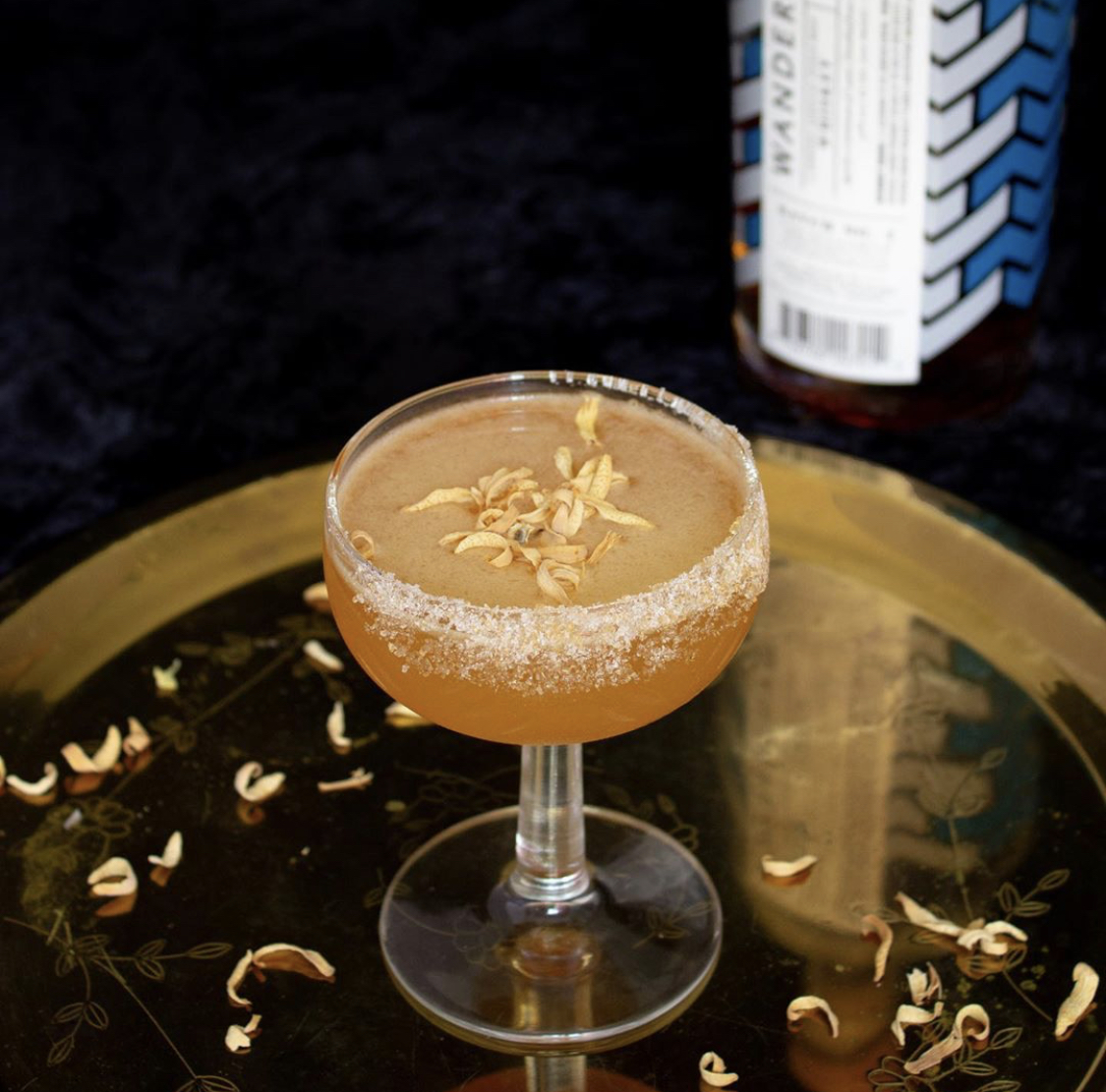 Wanderback Whiskey Sidecar Cocktail