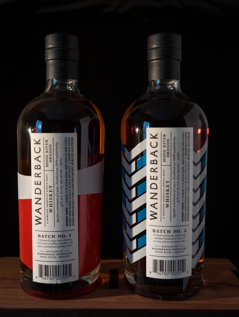 Wanderback Whiskey American Single Malt