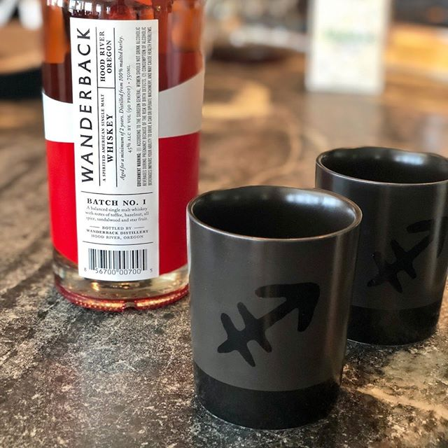 B E N D whiskey people: you can be the first to nab a pair of our new ceramic tumblers. They're available at @Northwestcrossing farmers market this weekend alongside Wanderback. There's no better sipping vessel. ⠀ ⠀ Already enjoying Wanderback? Tag us #Wanderback