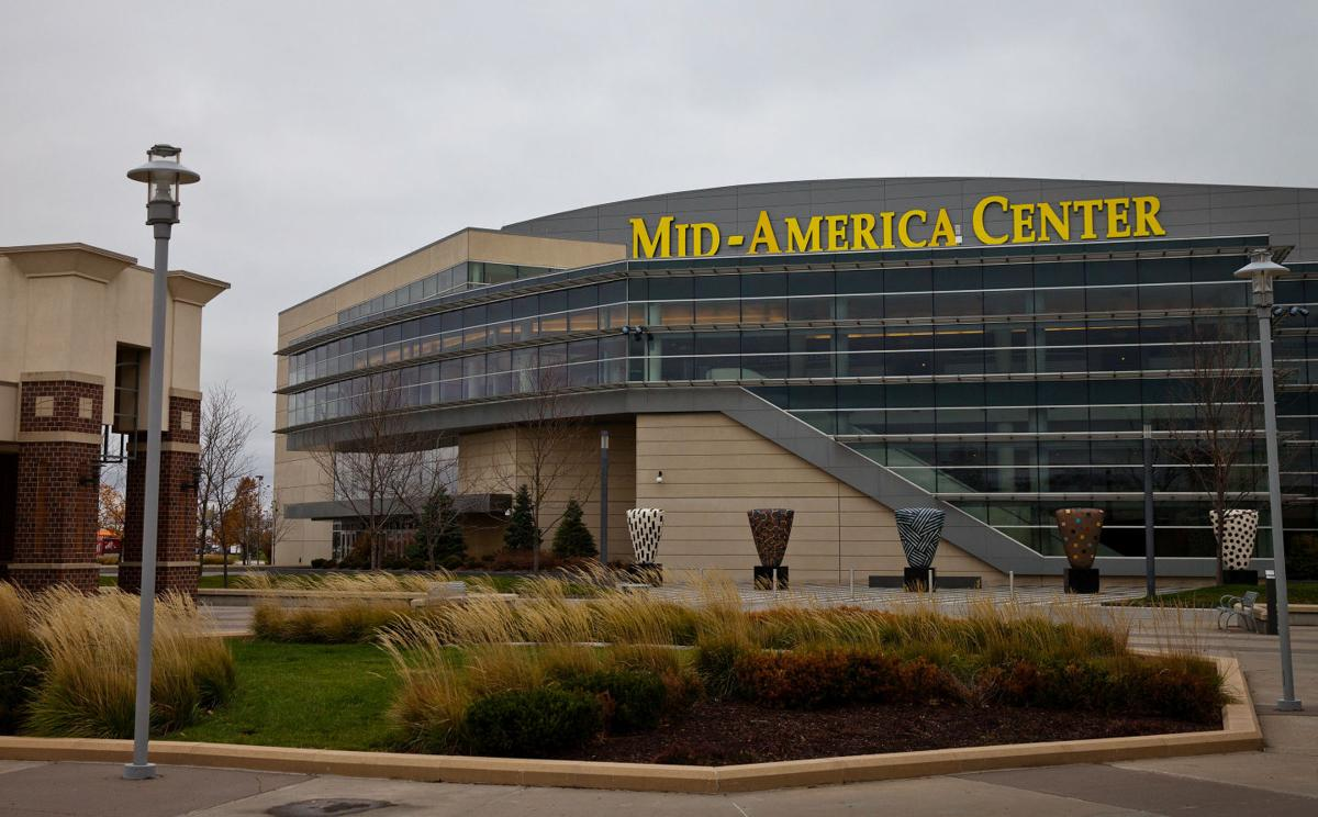 Mid-America Center  is the Heartland's premier entertainment and convention center and was officially opened on October 18, 2002. This versatile facility is made up of over 150,000 square feet and includes a 30,000 square foot arena for a capacity of up 8,000 people, a 64,000 square foot convention center, and more than 20,000 square feet of meeting space. There is always free parking at the site. The facility has been home to concerts of Kenny Chesney, Journey, and Martina McBride as well as being host site for Harlem Globetrotters and Disney on Ice.