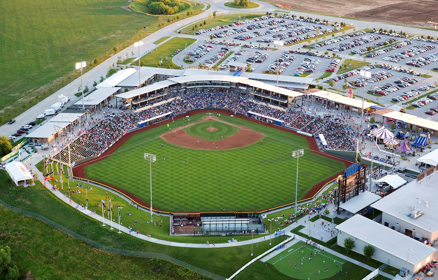 Werner Park  is a unique outdoor venue which is home to the Omaha Storm Chasers, the Triple-A Affiliate of the Kansas City Royals. Built in 2011, the stadium has 6,434 seats, 15 Luxury Suites, 3 Hospitality Tents, an Indoor Bar, Boardroom Space, and total capacity of 9,023. Sarpy County, NE owns the facility which is operated by the Omaha Storm Chasers Baseball Club. In addition to 70 Storm Chasers Baseball games, each year Werner Park provides a unique outdoor venue for corporate events, concerts, charity walks, and much more.
