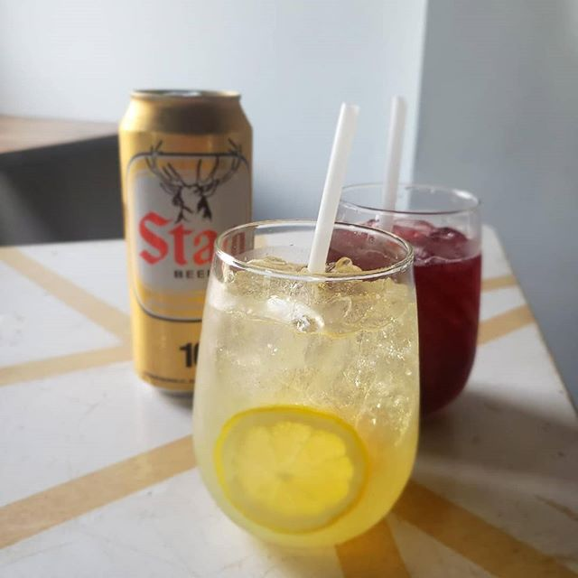 We've got $6 Sangria and $2 Stag here from tonight until July 20th (or until we run out)!