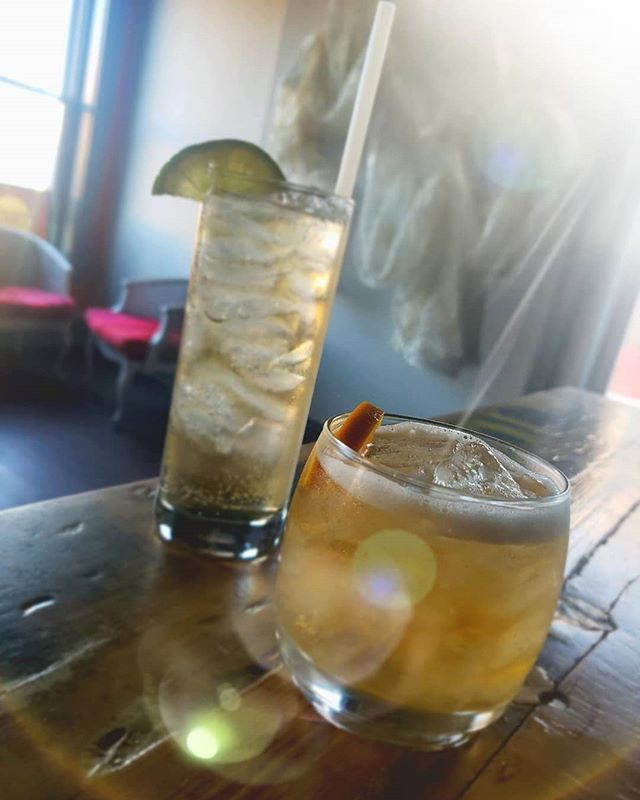 You know we have $2 stags, $3 shots of Old Crow and $6 Sangria until July 20th. Let's add a couple more things to really get the party started.  Stop by for a $6 dollar Relaxing Near Manhattan which features bourbon, green tea liqueur and chamomile liqueur or a Floral AF Gin & Tonic for $7. This herbaceous cocktail includes gin and multiple liqueurs including rosehip, creme de violette and dandelion with a splash of magnolia bitters.  It's a treat AND a steal.  All of these offers are good until July 20th. 🍹🍹🍹