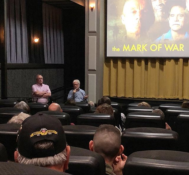 Q & A featuring Director Ricardo Ainslie and Vietnam War Veteran Tom Christie. Thank you to everyone who attended, and thank you to everyone who contributed to the following Q & A session.