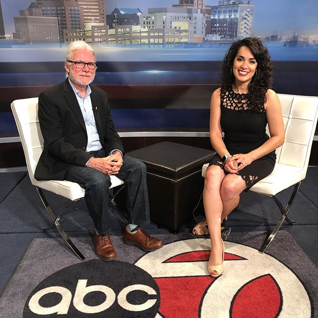 Director Ricardo Ainslie on KVIA ABC 7 in El Paso today! Come see him tonight at our screening at 6:30pm followed by a Q&A with him!