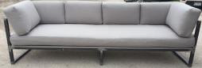 Iron Framed Jake Sofa
