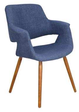 Blue Panel Chair