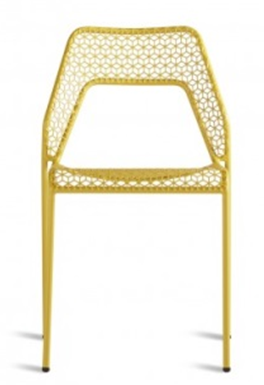 Yellow Mesh Chair