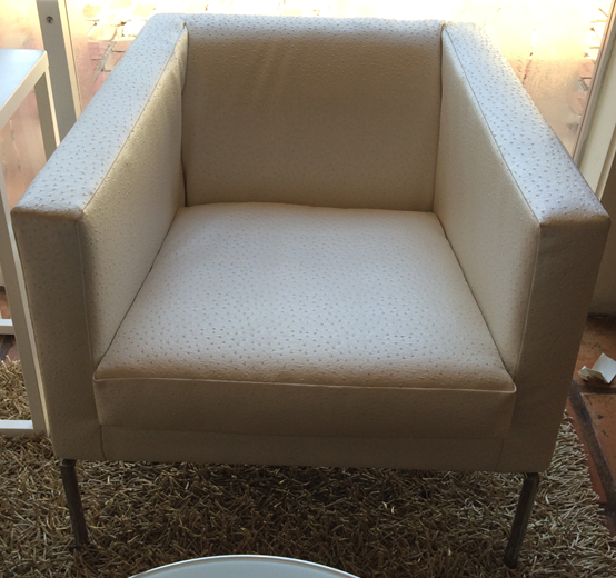 White Emu Club Chair