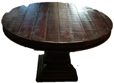Wood Stained Mexican Table