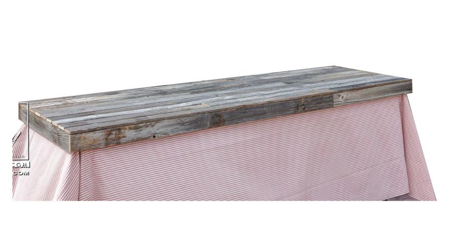 Rustic Wood Table Cap