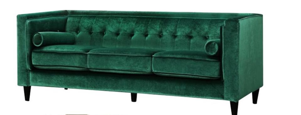 Green Velvet Lola Sofa