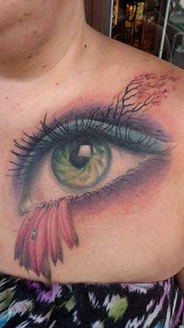 Sioux Falls Tattoo Artist Nick Call.