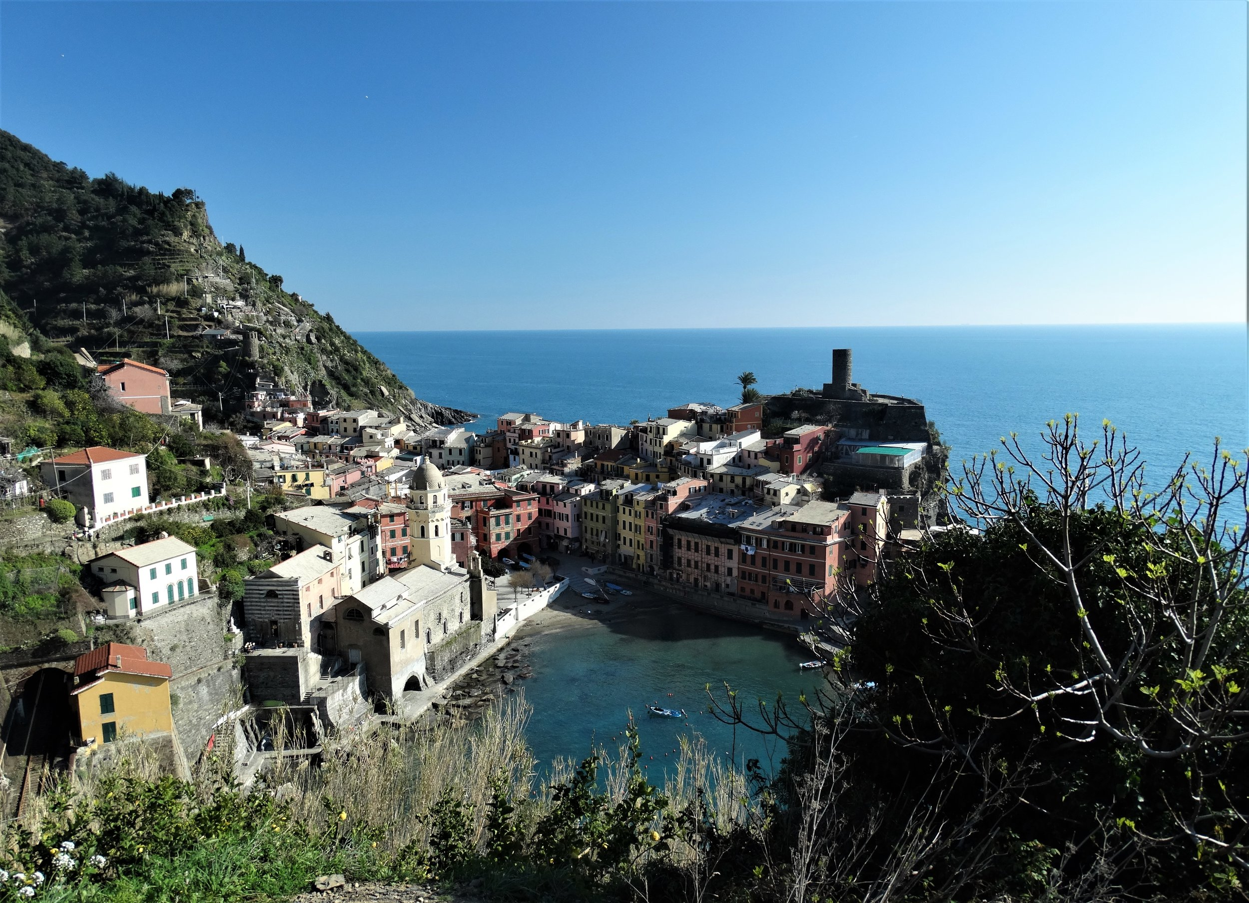 The picturesque village of Vernazza