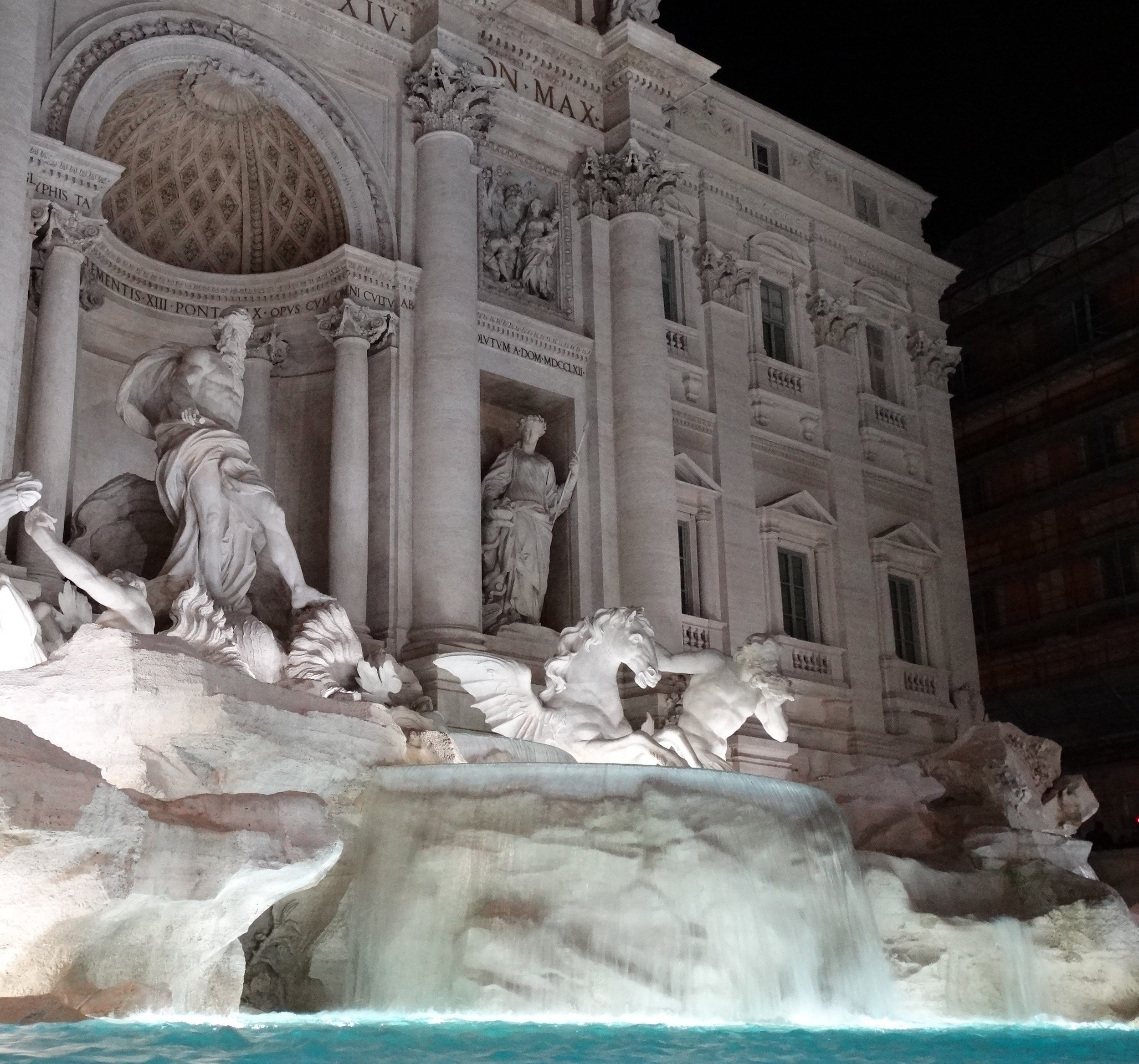 The incomparable Trevi Fountain