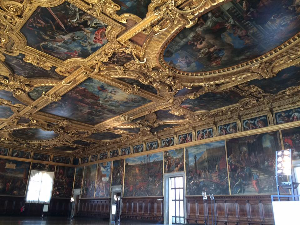 Great Council Chamber Ceiling