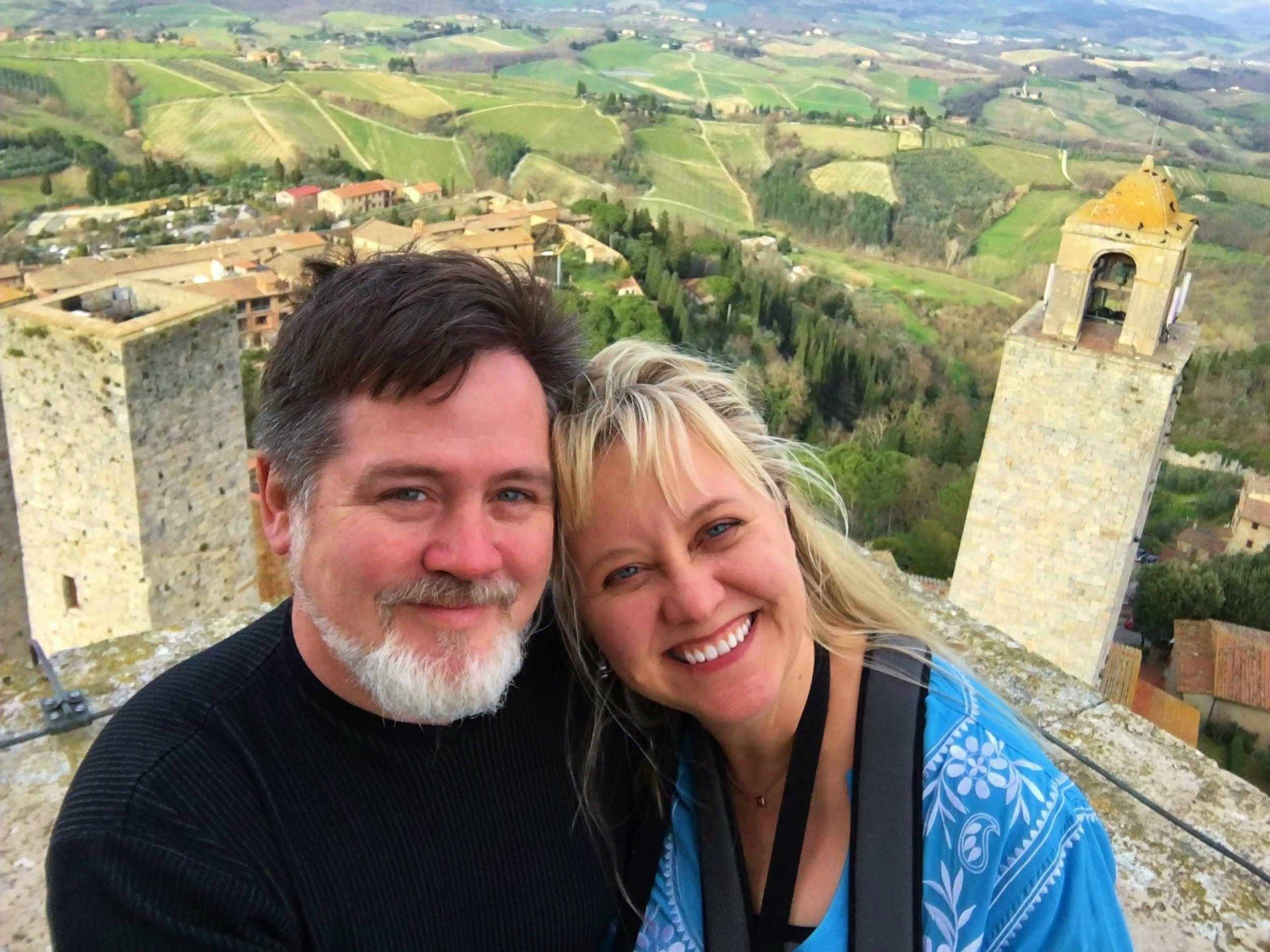 Who are Scott & Janet? Both are native Texans who love the adventure of travel. Scott is a computer IT specialist and home brewer. Janet is a food scientist specializing in food safety and a master gardener. Together, they've been to more than 25 countries and 47 of the 50 states in the U.S.   They live in San Antonio, Texas