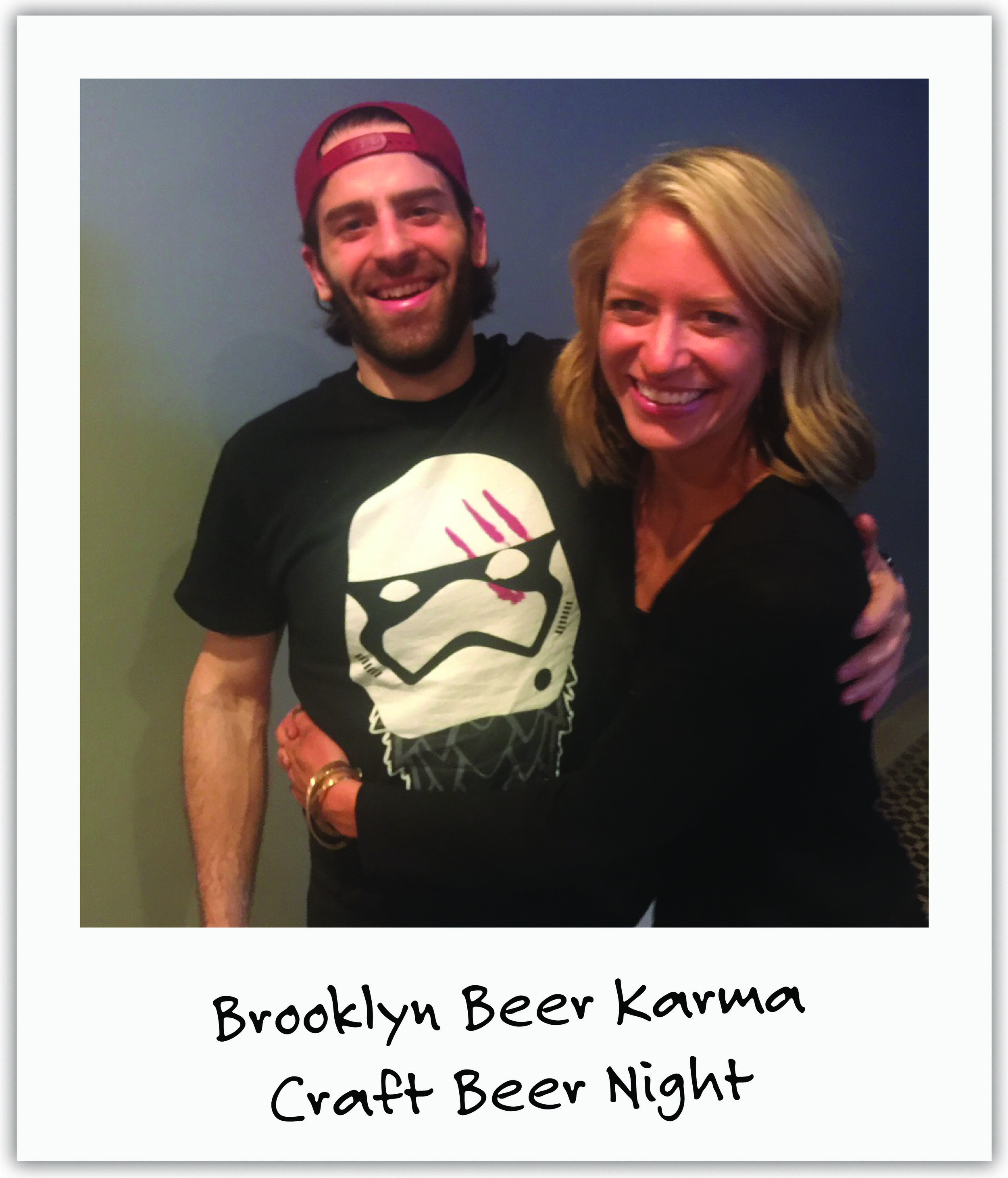 NY friend Margaret teamed up with hip Brooklyn bar to gather Mila supporters around craft beers and share our cause.