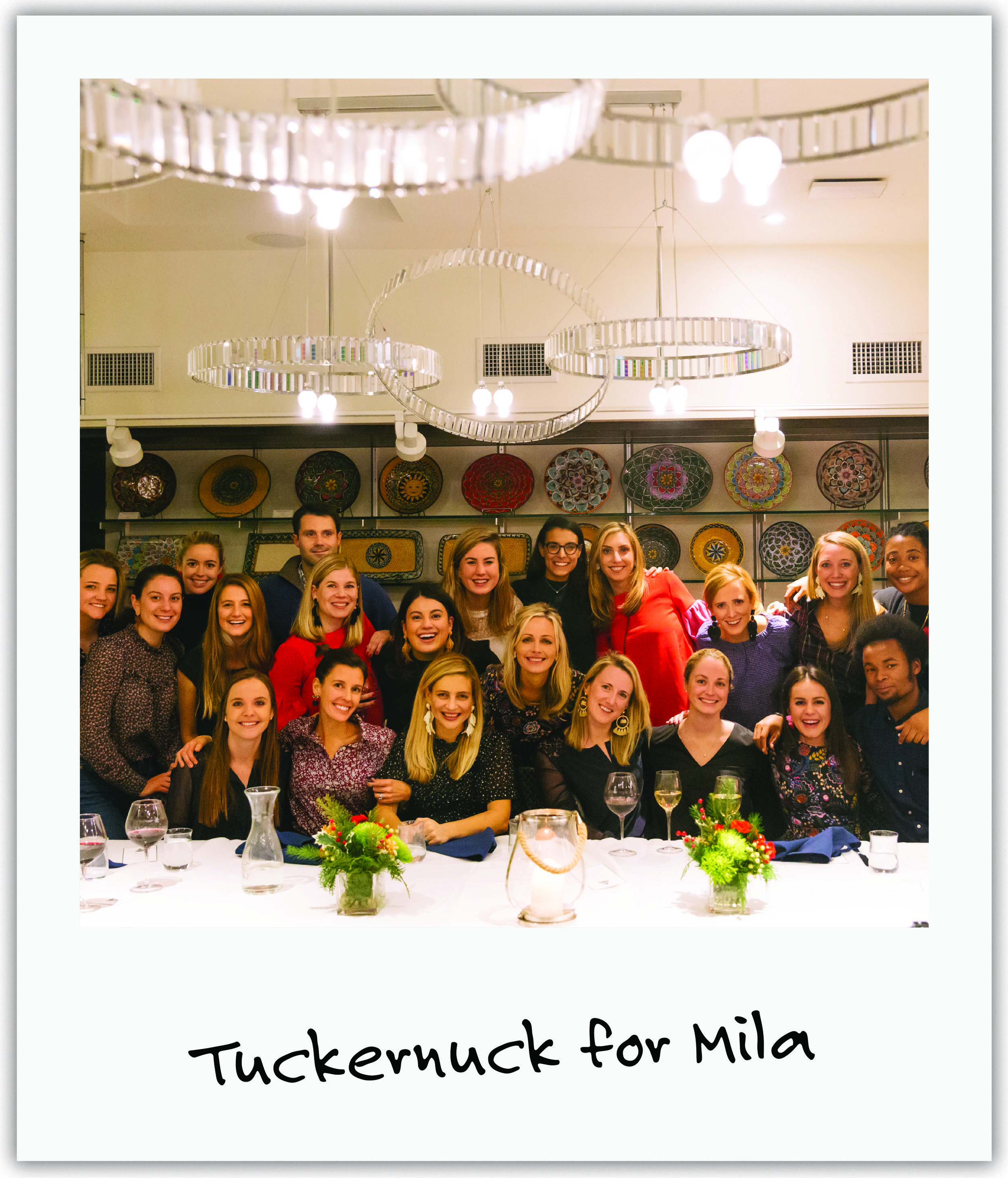 Mila's aunt Sophie and her fashion company dedicated proceeds and a social media campaign to Mila and our cause!