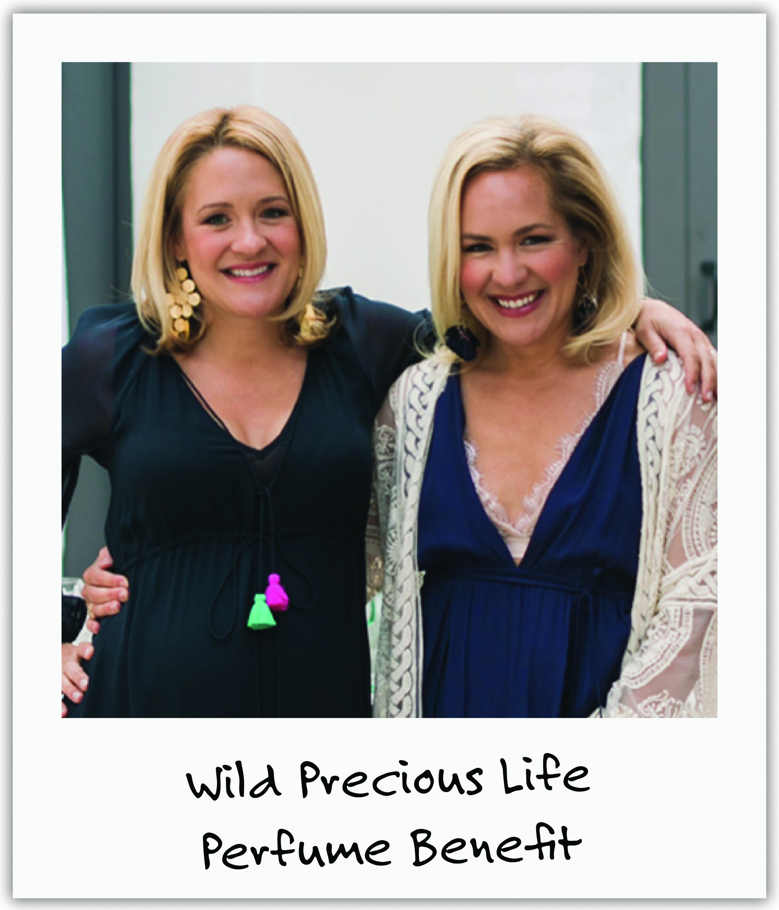 LA sisters and old friends Mary and Lucy dedicated perfume sales and healing mantras from their appropriately named company, Wild Precious Life.