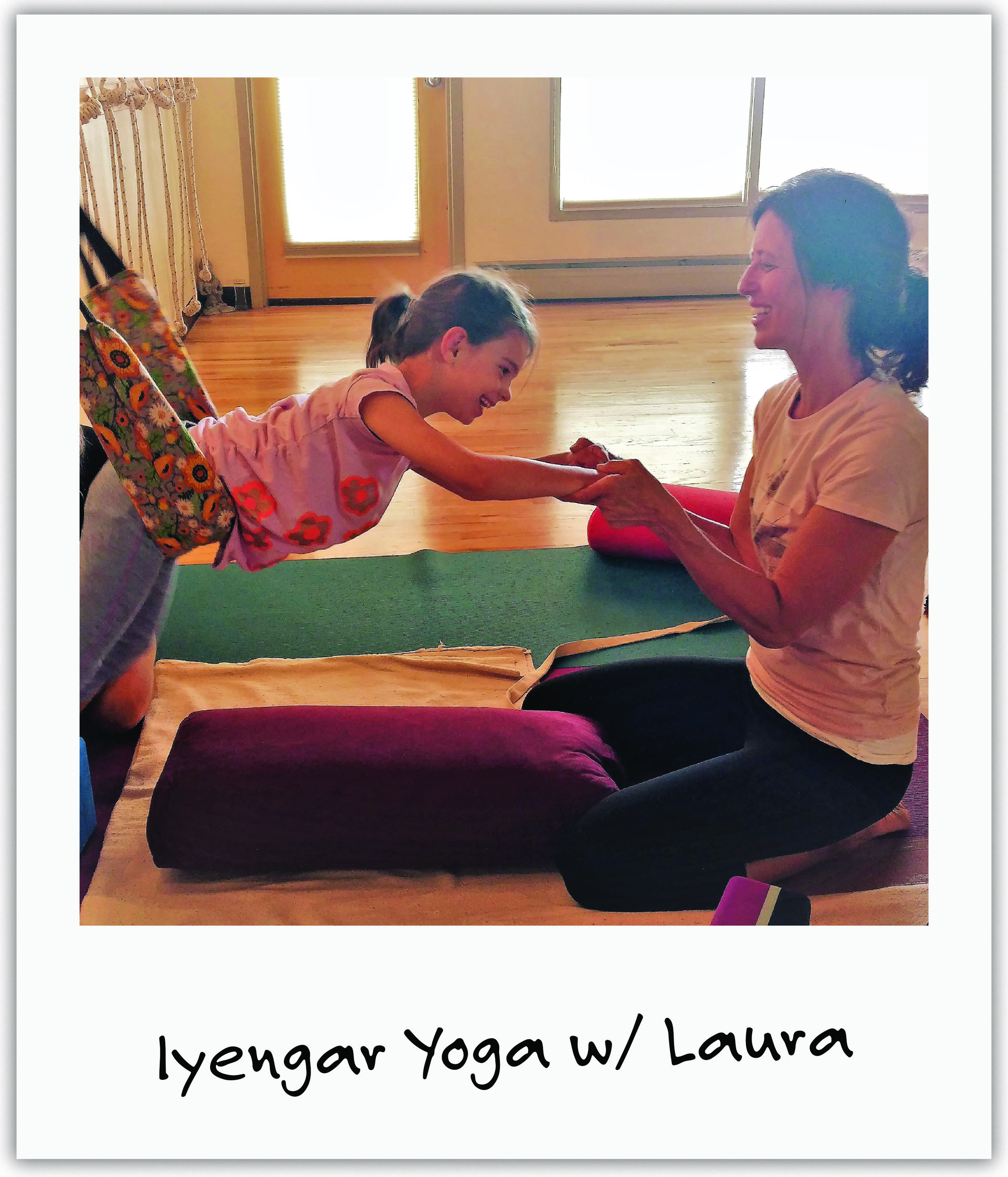 Renowned Iyengar yoga teacher, Laura, met Mila and has since created a deep connection with her through a unique restorative approach to neurological disease in children.