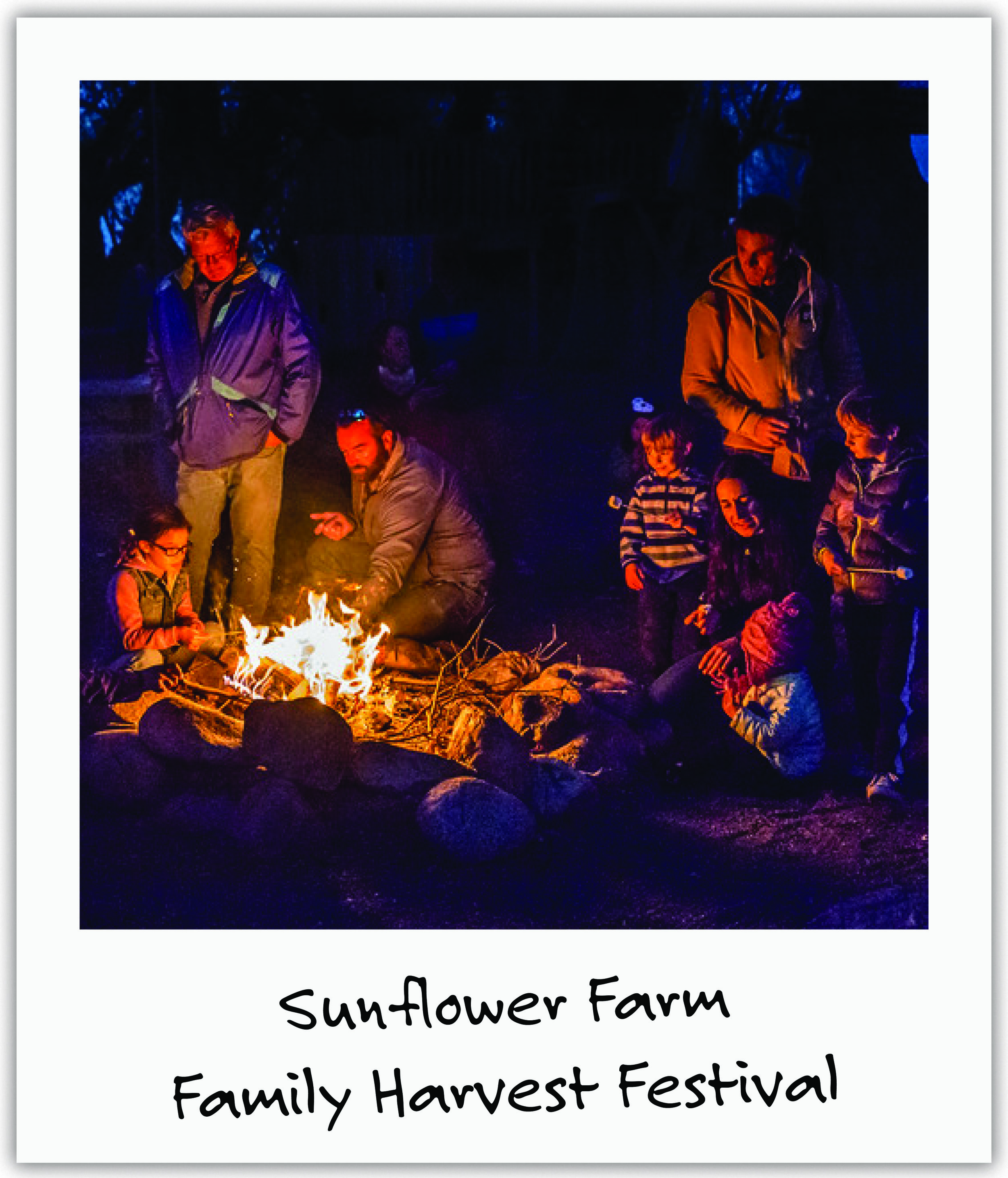 Sunflower Farm, where Mila spent much of her childhood, graciously offered a Family Harvest Festival around the campfire, together with holiday photo sessions by new friend and photographer Natasha.