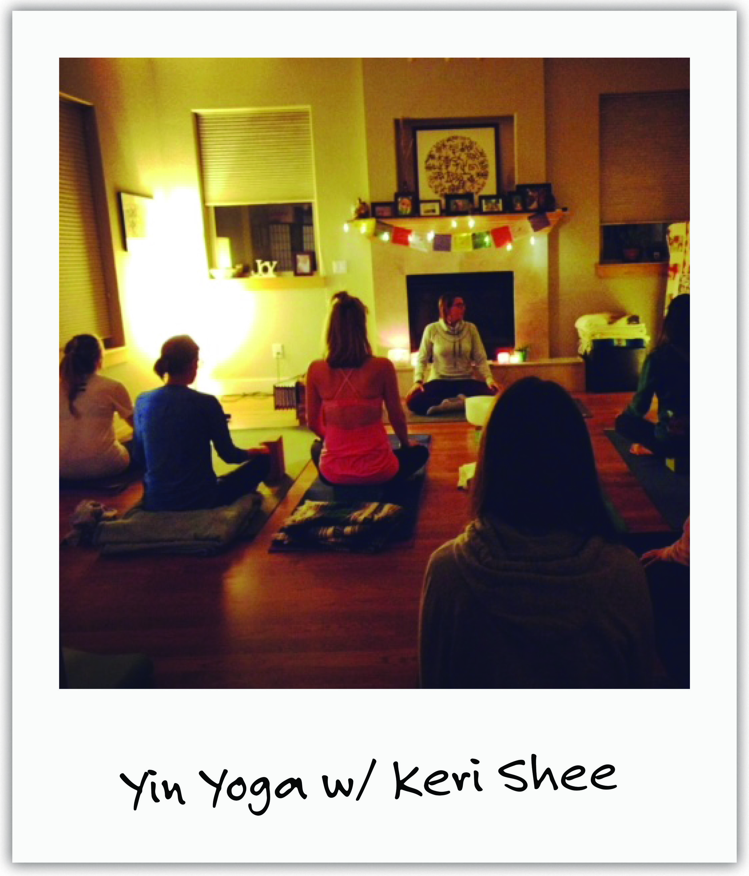 Keri, who has known Mila since birth, organizes regular Yin Yoga sessions at her home with much love in support of Mila.